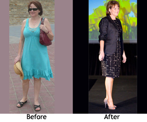 Lorraine's before and after personal style makeover