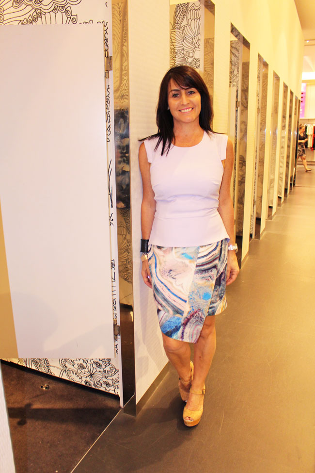 Portmans skirt $79.95 and top $59.95