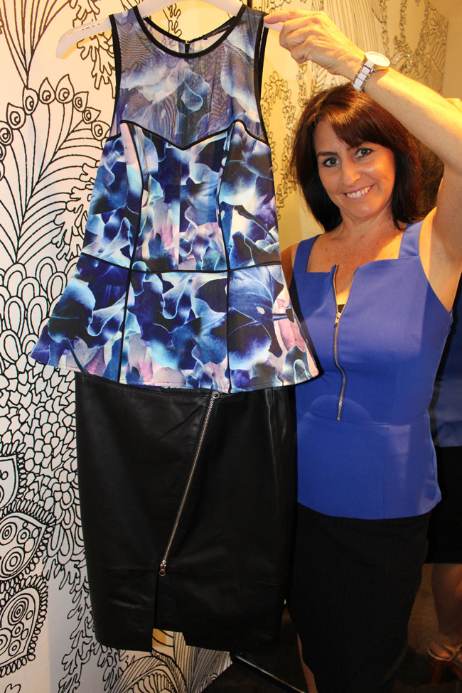 Portmans top $69.95 with $149.95 skirt