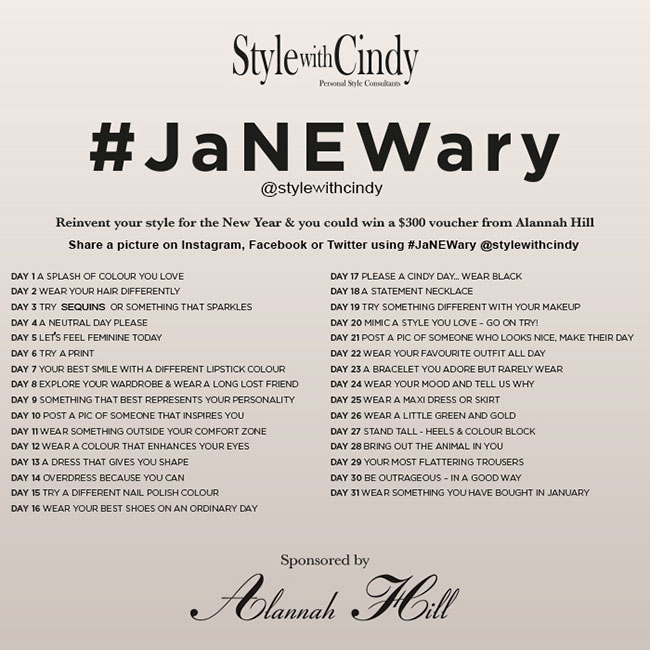 #JaNEWary Style Challenge