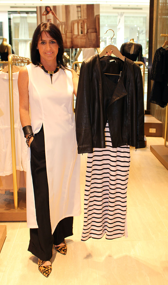 Kookai jacket $550 and dress $120