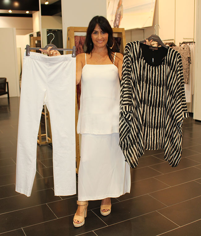 Maggie T pants $149 and top $229