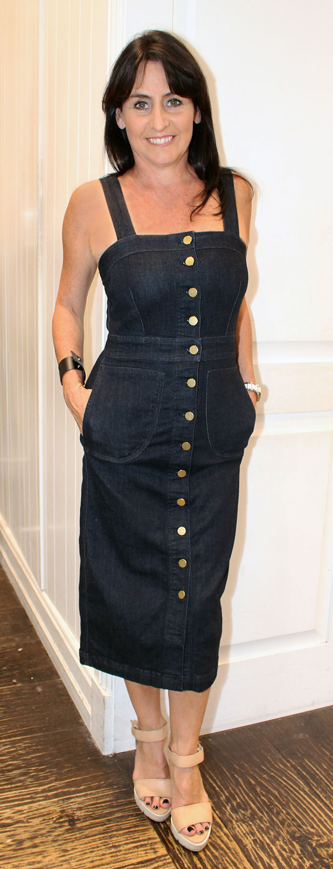 Seed denim dress $149.95