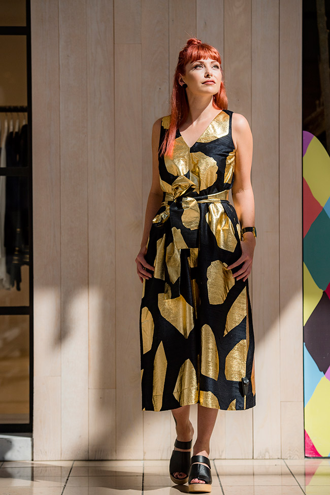 Gorman dress $349 with shoes $249