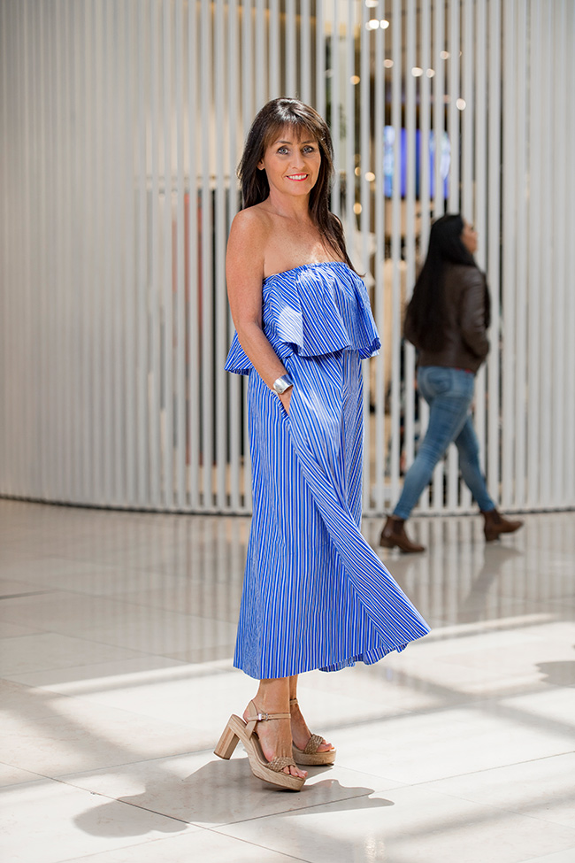 Cindy in Sheike Off The Shoulder Dress
