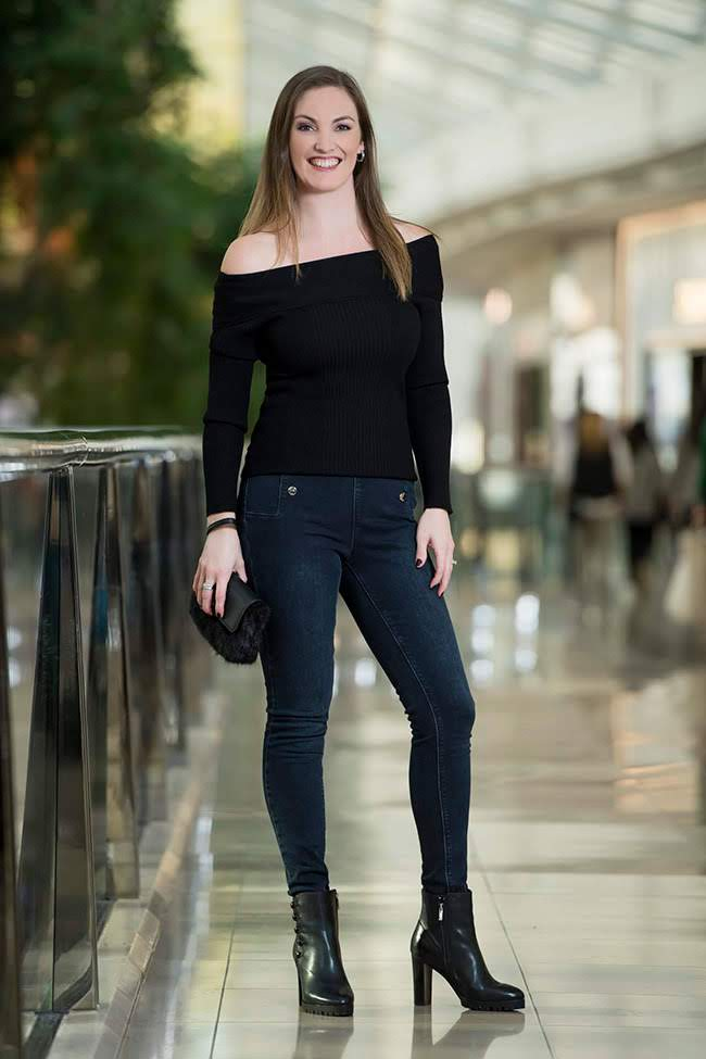 Natalie in Ted Baker Jeans