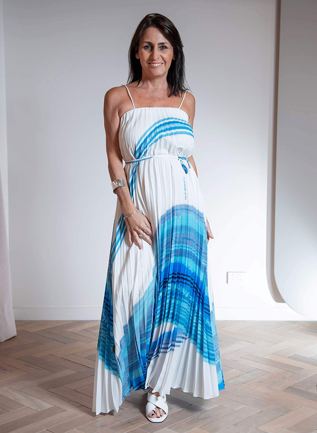 Country Road Print Pleated Dress $229