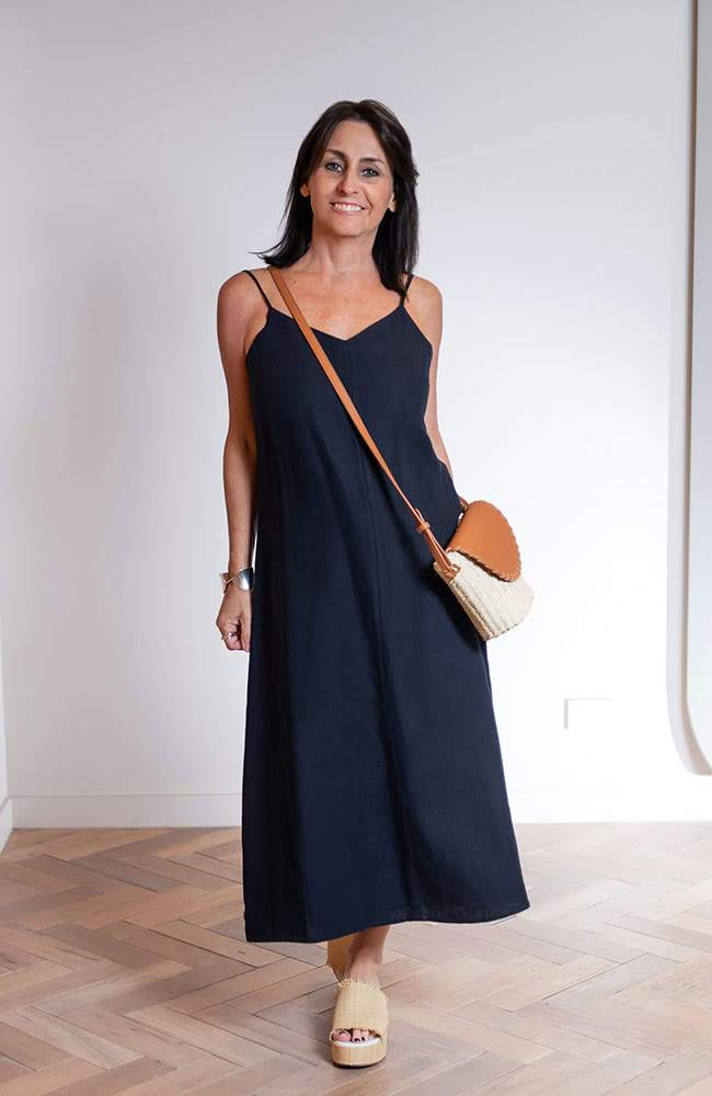 Navy Dress from Country Road