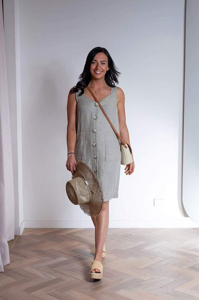 Country Road Linen Dress