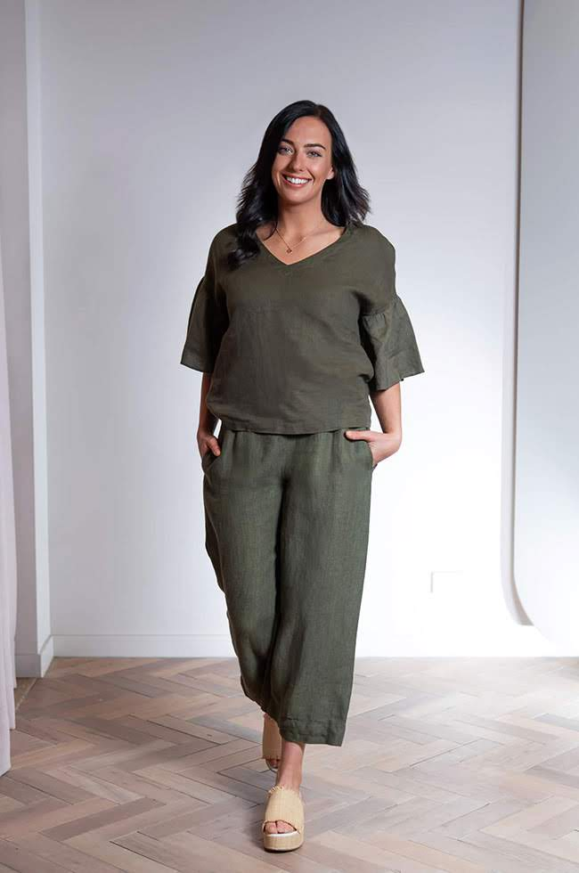 Linen Culottes and Top from Country Road