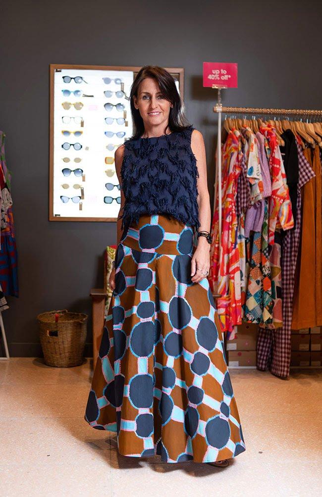 Gorman skirt and top
